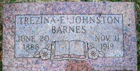 BARNES, TREZINA E - Le Flore County, Oklahoma | TREZINA E BARNES - Oklahoma Gravestone Photos