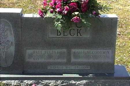BECK, PAUL EUGENE - Le Flore County, Oklahoma | PAUL EUGENE BECK - Oklahoma Gravestone Photos