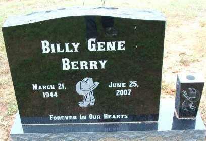 BERRY, BILLY GENE - Le Flore County, Oklahoma | BILLY GENE BERRY - Oklahoma Gravestone Photos