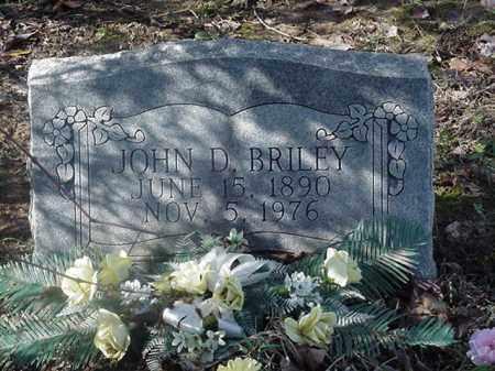 BRILEY, JOHN D - Le Flore County, Oklahoma | JOHN D BRILEY - Oklahoma Gravestone Photos