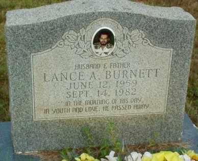 BURNETT, LANCE A. - Le Flore County, Oklahoma | LANCE A. BURNETT - Oklahoma Gravestone Photos