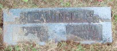CANTRELL, LUCILLE - Le Flore County, Oklahoma | LUCILLE CANTRELL - Oklahoma Gravestone Photos