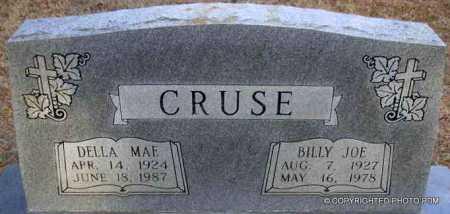 CRUSE, BILLY JOE - Le Flore County, Oklahoma | BILLY JOE CRUSE - Oklahoma Gravestone Photos