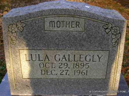 GALLEGLY, LULA - Le Flore County, Oklahoma | LULA GALLEGLY - Oklahoma Gravestone Photos