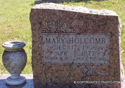 HOLCOMB, MARY - Le Flore County, Oklahoma | MARY HOLCOMB - Oklahoma Gravestone Photos
