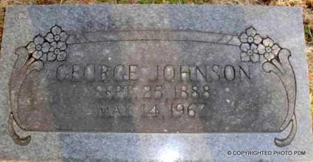 JOHNSON, GEORGE - Le Flore County, Oklahoma | GEORGE JOHNSON - Oklahoma Gravestone Photos