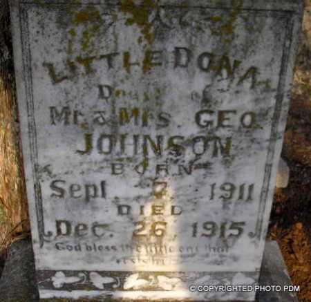 JOHNSON, DONA - Le Flore County, Oklahoma | DONA JOHNSON - Oklahoma Gravestone Photos