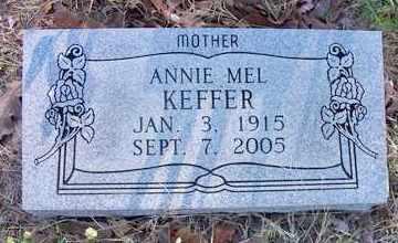 HODGEN KEFFER, ANNIE MEL - Le Flore County, Oklahoma | ANNIE MEL HODGEN KEFFER - Oklahoma Gravestone Photos