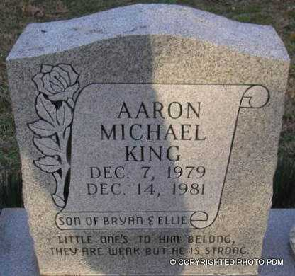 KING, AARON MICHAEL - Le Flore County, Oklahoma | AARON MICHAEL KING - Oklahoma Gravestone Photos