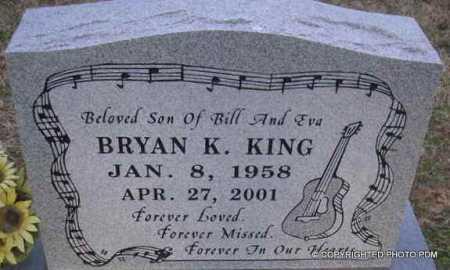 KING, BRYAN K - Le Flore County, Oklahoma | BRYAN K KING - Oklahoma Gravestone Photos
