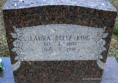 KING, LAURA BELLE - Le Flore County, Oklahoma | LAURA BELLE KING - Oklahoma Gravestone Photos