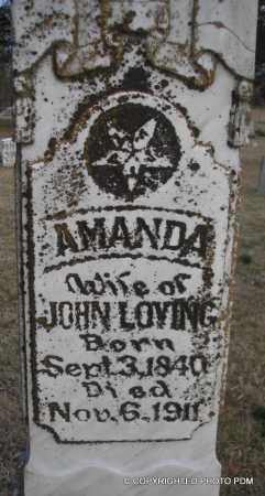 LOVING, AMANDA - Le Flore County, Oklahoma | AMANDA LOVING - Oklahoma Gravestone Photos