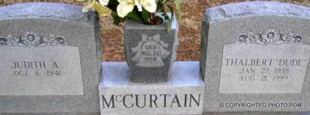 "MCCURTAIN, THALBERT  ""DUDE"" - Le Flore County, Oklahoma   THALBERT  ""DUDE"" MCCURTAIN - Oklahoma Gravestone Photos"