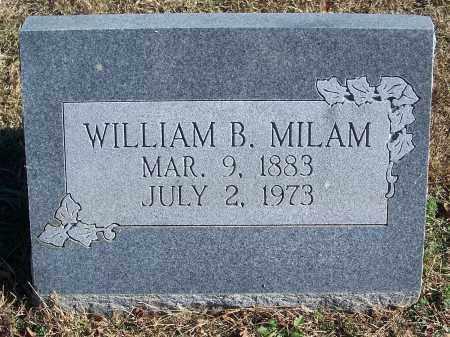 MILAM, WILLIAM - Le Flore County, Oklahoma | WILLIAM MILAM - Oklahoma Gravestone Photos