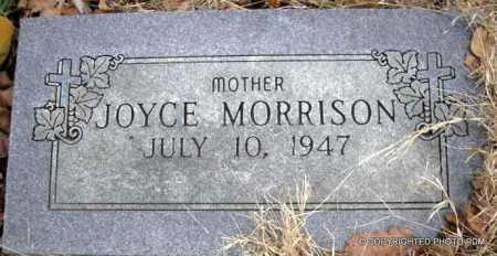 MORRISON, JOYCE - Le Flore County, Oklahoma | JOYCE MORRISON - Oklahoma Gravestone Photos