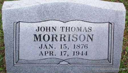 MORRISON, JOHN THOMAS - Le Flore County, Oklahoma | JOHN THOMAS MORRISON - Oklahoma Gravestone Photos