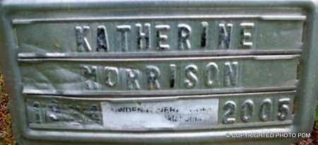 MORRISON, KATHERINE - Le Flore County, Oklahoma | KATHERINE MORRISON - Oklahoma Gravestone Photos