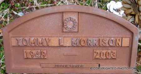 MORRISON, TOMMY L. - Le Flore County, Oklahoma   TOMMY L. MORRISON - Oklahoma Gravestone Photos