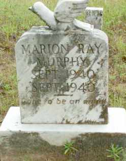 MURPHY, MARION RAY - Le Flore County, Oklahoma | MARION RAY MURPHY - Oklahoma Gravestone Photos
