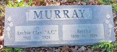 LOCKHART MURRAY, BERTHA - Le Flore County, Oklahoma   BERTHA LOCKHART MURRAY - Oklahoma Gravestone Photos