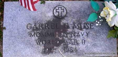 MUSE  (VETERAN WWII), CARREL U - Le Flore County, Oklahoma | CARREL U MUSE  (VETERAN WWII) - Oklahoma Gravestone Photos