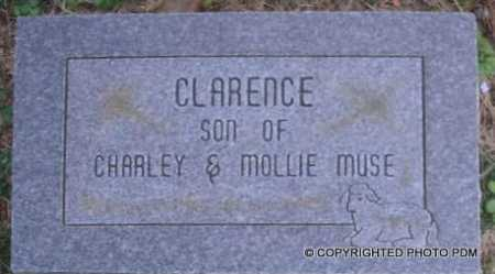MUSE, CLARENCE - Le Flore County, Oklahoma   CLARENCE MUSE - Oklahoma Gravestone Photos