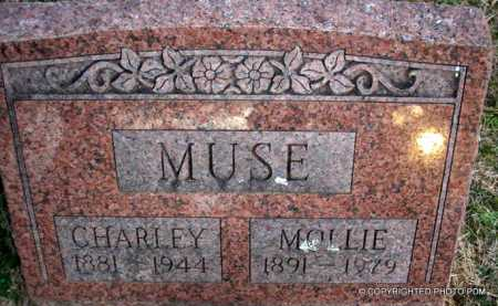 MUSE, CHARLEY - Le Flore County, Oklahoma | CHARLEY MUSE - Oklahoma Gravestone Photos