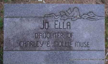 MUSE, JO ELLA - Le Flore County, Oklahoma   JO ELLA MUSE - Oklahoma Gravestone Photos