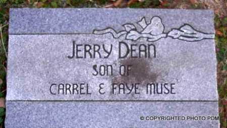 MUSE, JERRY DEAN - Le Flore County, Oklahoma   JERRY DEAN MUSE - Oklahoma Gravestone Photos