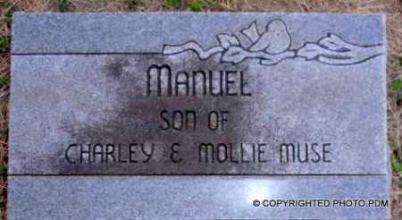 MUSE, MANUEL - Le Flore County, Oklahoma   MANUEL MUSE - Oklahoma Gravestone Photos