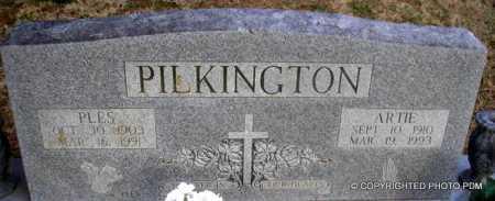 PILKINGTON, ARTIE - Le Flore County, Oklahoma | ARTIE PILKINGTON - Oklahoma Gravestone Photos