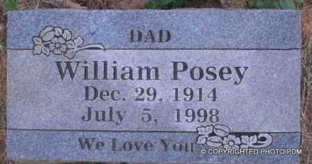 POSEY, WILLIAM - Le Flore County, Oklahoma | WILLIAM POSEY - Oklahoma Gravestone Photos