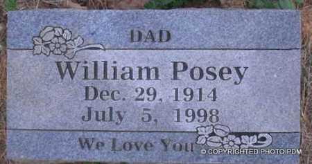 POSEY, WILLIAM - Le Flore County, Oklahoma   WILLIAM POSEY - Oklahoma Gravestone Photos