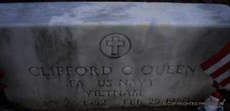 QUEEN  (VETERAN VIET), CLIFFORD C - Le Flore County, Oklahoma | CLIFFORD C QUEEN  (VETERAN VIET) - Oklahoma Gravestone Photos