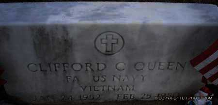 QUEEN  (VETERAN VIET), CLIFFORD C - Le Flore County, Oklahoma | CLIFFORD C QUEEN  (VETERAN VIET) - Oklahoma Gravestone Photos