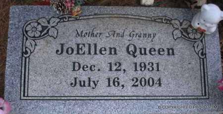 QUEEN, JO ELLEN - Le Flore County, Oklahoma   JO ELLEN QUEEN - Oklahoma Gravestone Photos