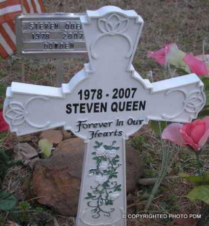 QUEEN, STEVEN - Le Flore County, Oklahoma | STEVEN QUEEN - Oklahoma Gravestone Photos