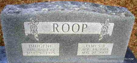 ROOP, JAMES RALPH - Le Flore County, Oklahoma | JAMES RALPH ROOP - Oklahoma Gravestone Photos