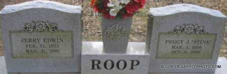 ROOP, PEGGY J - Le Flore County, Oklahoma | PEGGY J ROOP - Oklahoma Gravestone Photos