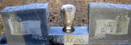 SCROGGINS, LEE - Le Flore County, Oklahoma | LEE SCROGGINS - Oklahoma Gravestone Photos