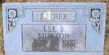 SHELTON, LEE B - Le Flore County, Oklahoma | LEE B SHELTON - Oklahoma Gravestone Photos