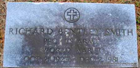 SMITH  (VETERAN WWII), RICHARD BENTLEY - Le Flore County, Oklahoma   RICHARD BENTLEY SMITH  (VETERAN WWII) - Oklahoma Gravestone Photos