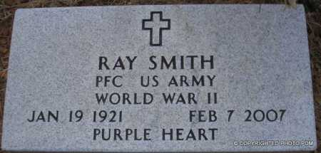 SMITH  (VETERAN WWII), RAY - Le Flore County, Oklahoma | RAY SMITH  (VETERAN WWII) - Oklahoma Gravestone Photos