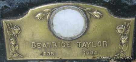 HEAVENER TAYLOR, BEATRICE - Le Flore County, Oklahoma | BEATRICE HEAVENER TAYLOR - Oklahoma Gravestone Photos