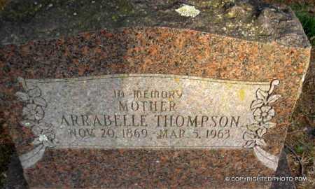 THOMPSON, ARRABELLE - Le Flore County, Oklahoma   ARRABELLE THOMPSON - Oklahoma Gravestone Photos