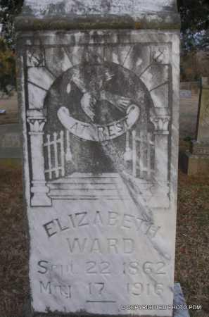 WARD, ELIZABETH - Le Flore County, Oklahoma | ELIZABETH WARD - Oklahoma Gravestone Photos