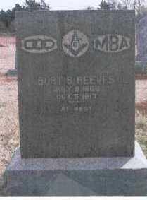 REEVES, BURT S. - Logan County, Oklahoma   BURT S. REEVES - Oklahoma Gravestone Photos