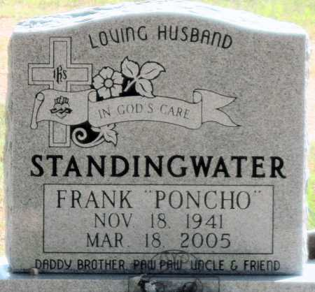 """STANDINGWATER, FRANKLIN """"PONCHO"""" - Mayes County, Oklahoma 
