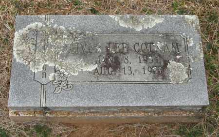 COTNAM, OLIVER LEE - McCurtain County, Oklahoma | OLIVER LEE COTNAM - Oklahoma Gravestone Photos