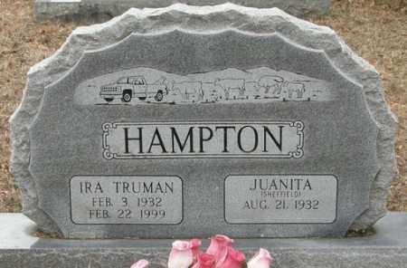 SHEFFIELD HAMPTON, JUANITA - McCurtain County, Oklahoma   JUANITA SHEFFIELD HAMPTON - Oklahoma Gravestone Photos